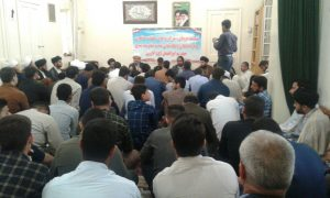 گزارش تصویری/نشست صمیمانه شبکه تربیتی صالحین با امام جمعه شهرستان کارون
