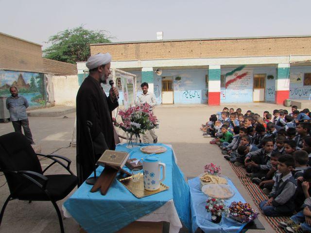 بازدید امام جمعه از آموزشگاه عبدارضا باوی