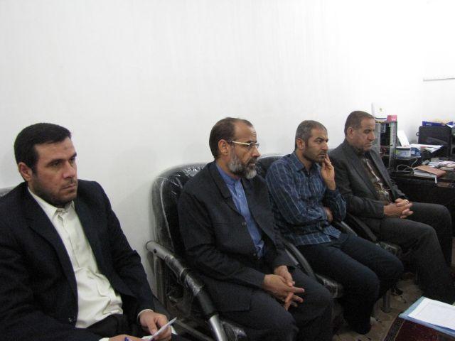 گزارش تصویری/برگزاری جلسه معاونت های ستاد