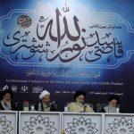 حضور امام جمعه کارون در همایش تجلیل از شهید ثالث
