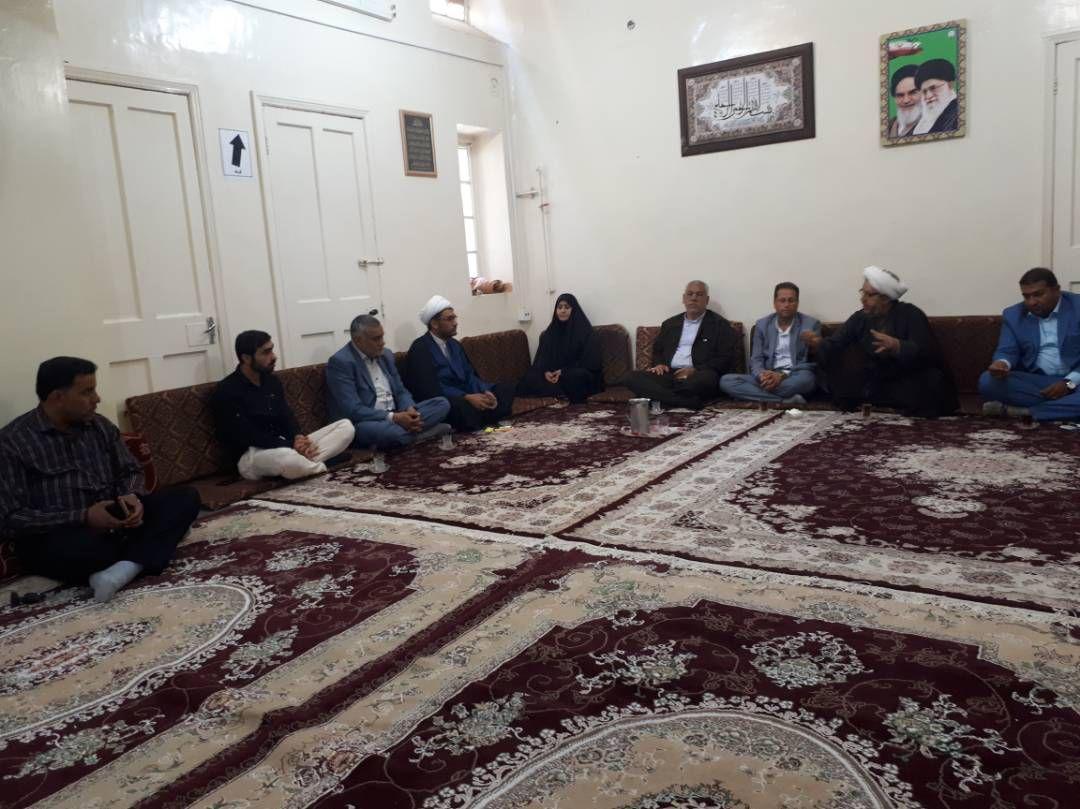 جلسه شورای شهر،شهردارکوت عبدالله،مسئول ستاد با امام جمعه