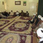 گزارش تصویری/دیدار روحانیون شهرستان کارون با امام جمعه این شهرستان