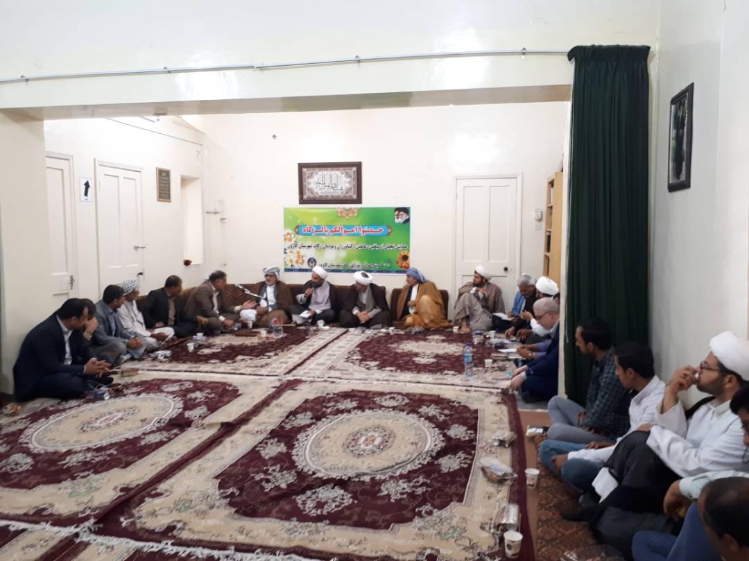 جلسه زکات شهرستان با حضور امام جمعه محترم شهرستان برگزار شد