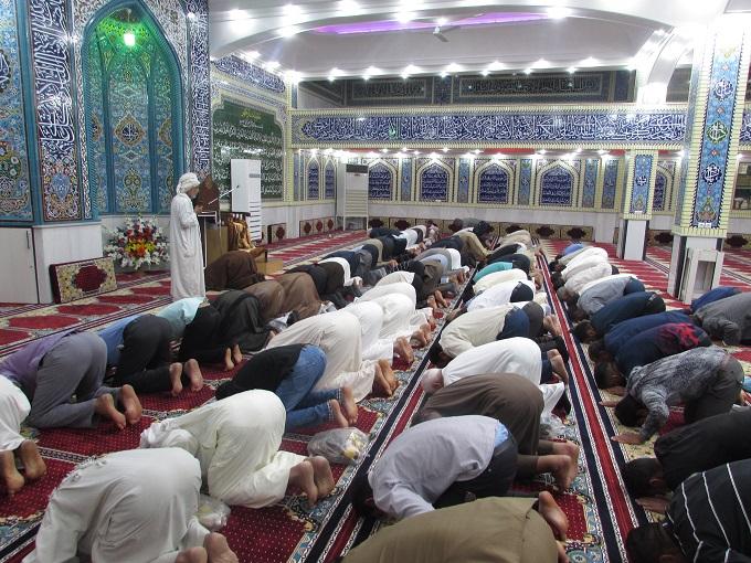 مسجد الرسول کوی شهید محسن کارون افتتاح شد