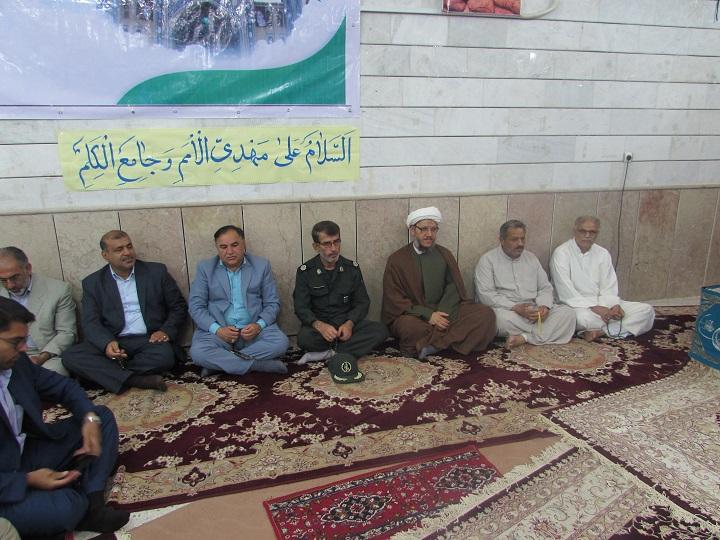 برگزاری مراسم جشن نیمه شعبان باحضور امام جمعه کارون در جنگیه