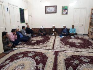 جلسه هماهنگی برگزاری مراسم همخوانی قرآن کریم در شهرستان کارون