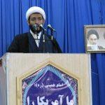 حجتالاسلام حردانی امام جمعه موقت شهرستان کارون