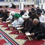 حضور امام جمعه کارون در جمع خوانی قرآن هئیت رزمندگان