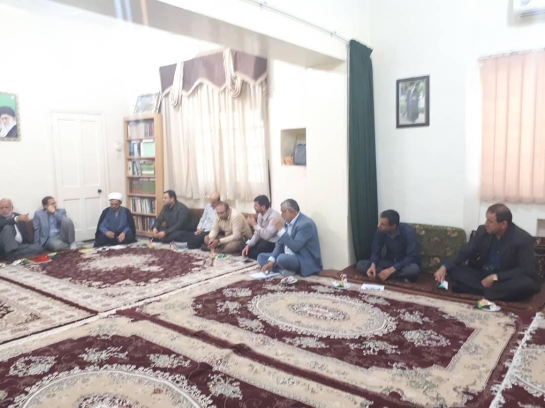 گزارش تصویری/ اولین جلسه ستاد غدیر کارون در سال97