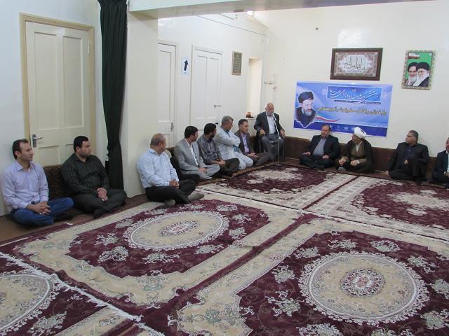 گزارش تصویری/مراسم گرامیداشت شهید بهشتی و شهدای هفتم تیر