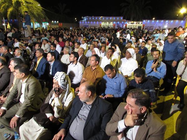 گزارش تصویری/جشنواره برداشت انگور در کارون
