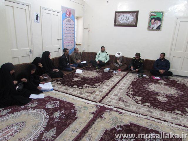 گزارش تصویری/جلسه عفاف و حجاب در شهرستان کارون برگراز شد