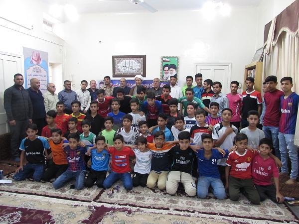 گزارش تصویری/دیدار مربیان ،سرپرست و بازیکنان تیم های منتخب شهرستان با امام جمعه کارون