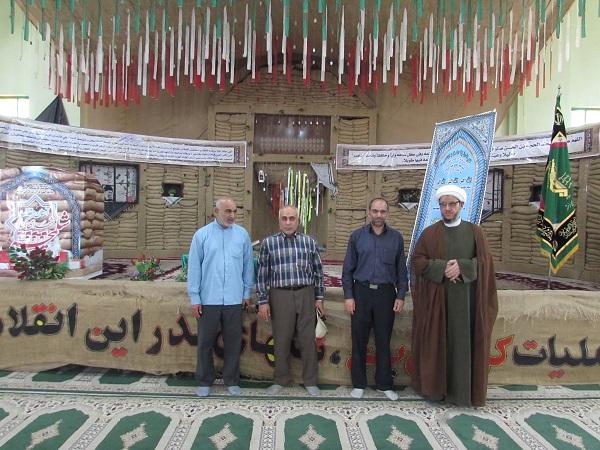 گزار تصویری/حضور امام جمعه کارون در یادمان شهدای شلمچه