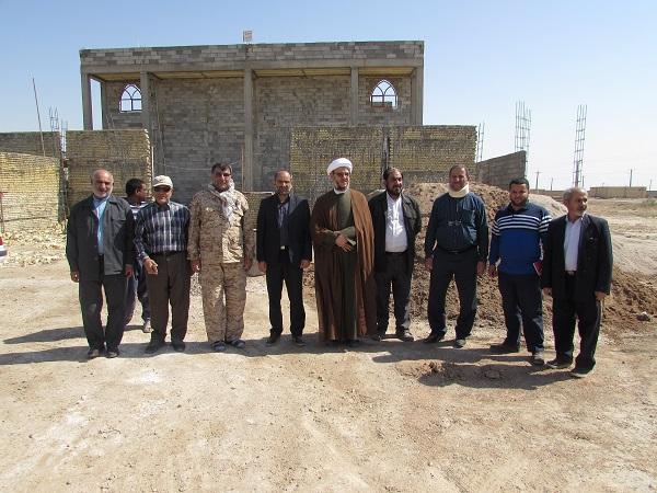 با حضور امام جمعه کارون محل استقرارموکب های اربعین در مرز شلمچه تعیین شد.