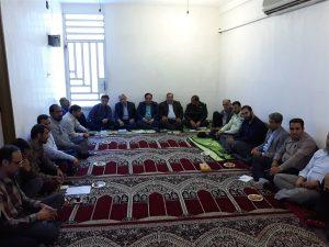 گزارش تصویری/ برگزاری جلسه معاونت پشتیبانی ستاد غدیر شهرستان کارون