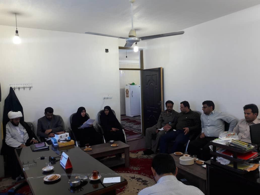 گزارش تصویری/ برگزاری جلسه معاونت فرهنگی ستاد غدیر شهرستان کارون