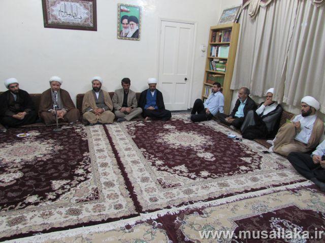دیدار عده ای از متدینین و دل داده های انقلاب اسلامی با امام جمعه کارون
