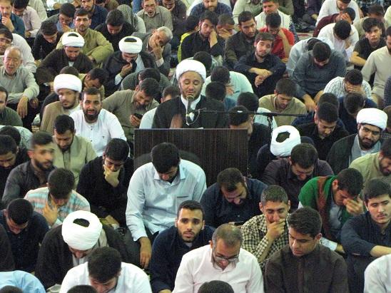 آیین پرفیض دعای عرفه در شهرستان کارون برگزار شد