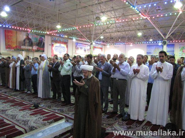نماز عید سعید قربان در شهرستان کارون اقامه شد