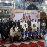 حضور امام جمعه در مراسم بسیج دانش آموزی