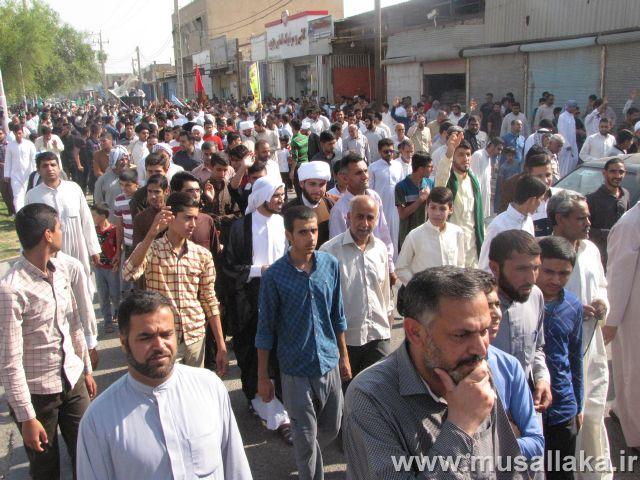راهپیمایی عظیم عید غدیر در شهرستان کارون