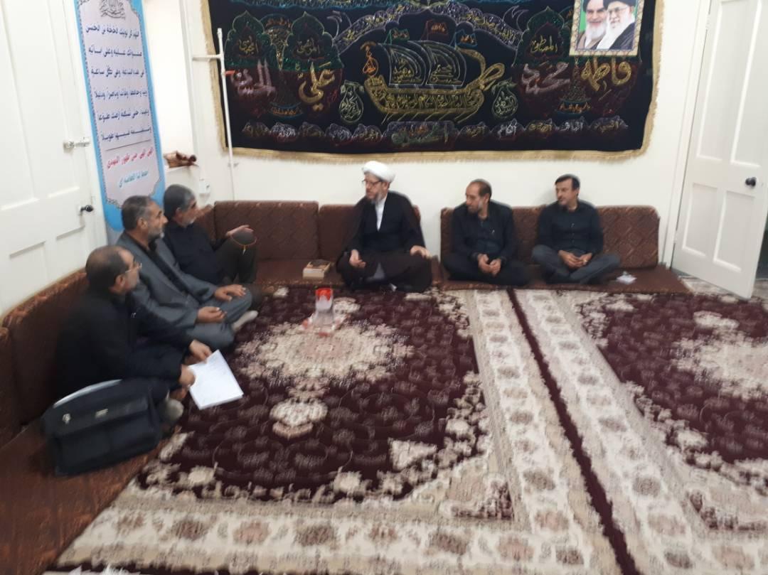 دیدار جمعی از بازنشستگان سپاه با امام جمعه کارون