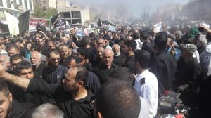 گزارش تصویری/مراسم تشیع شهدای حادثه تروریستی در اهواز