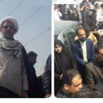 تشییع و خاکسپاری پیکر شهید نبی دریس در شهرستان کارون