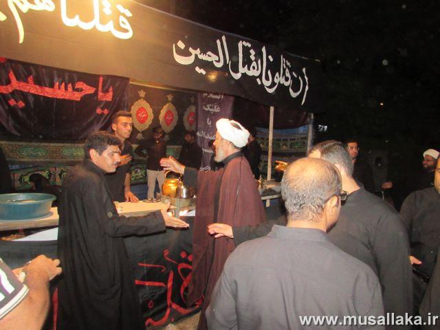 گزارش تصویری/بازدید امام جمعه کارون از ایستگاه های صلواتی شهرستان(1)