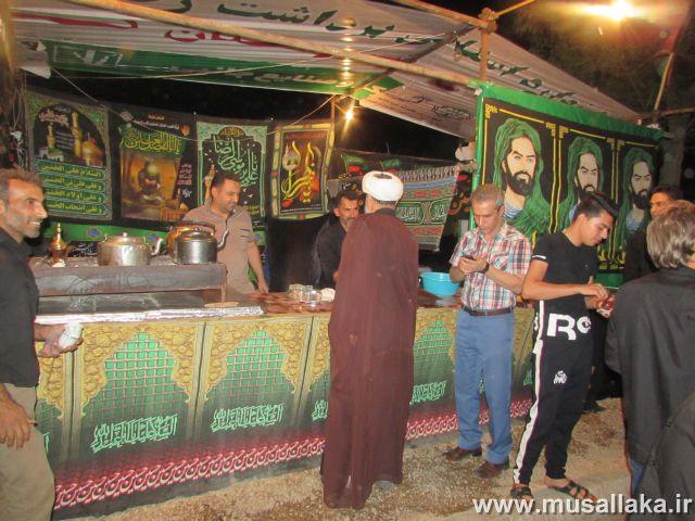گزارش تصویری/بازدید امام جمعه کارون از ایستگاه های صلواتی شهرستان(2)