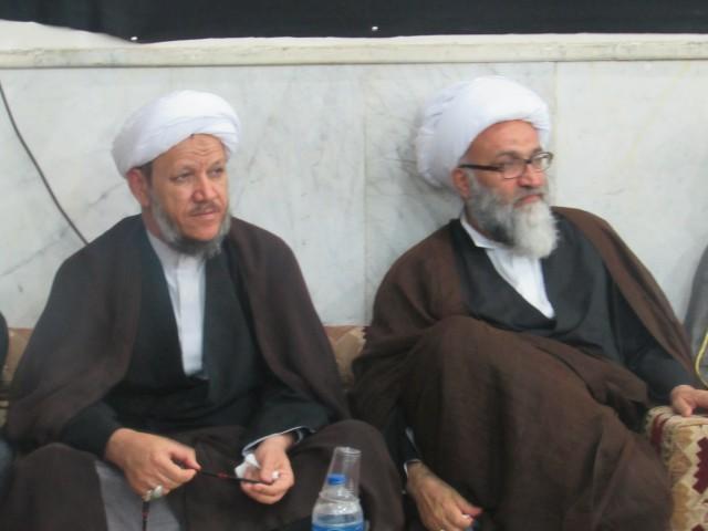 اولین سالگرد شهادت مدافع حرم شهید خوش لسان در شهرستان کارون برگزار شد