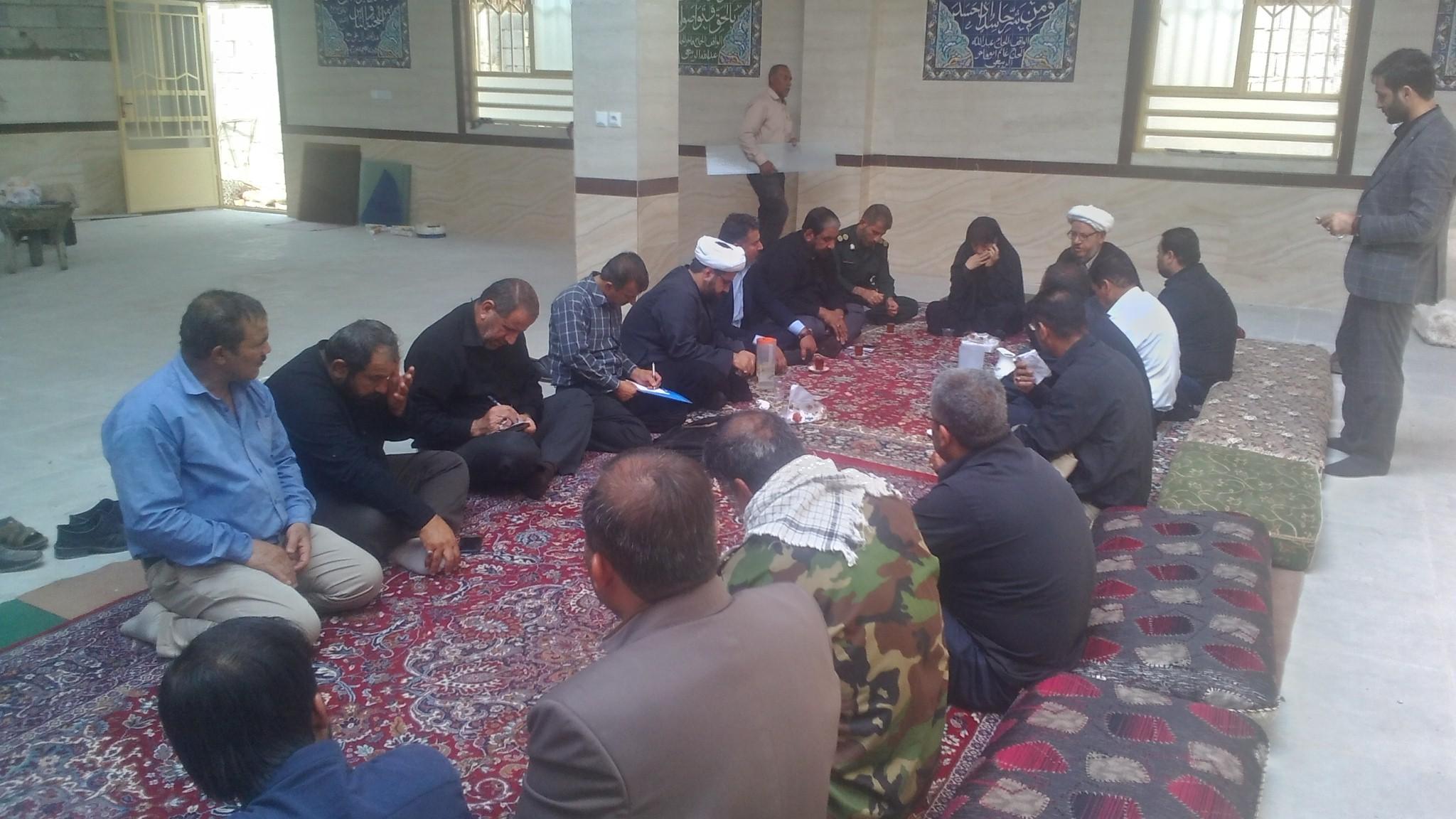 جلسه ستاد اربعین در مرز شلمچه برگزار شد