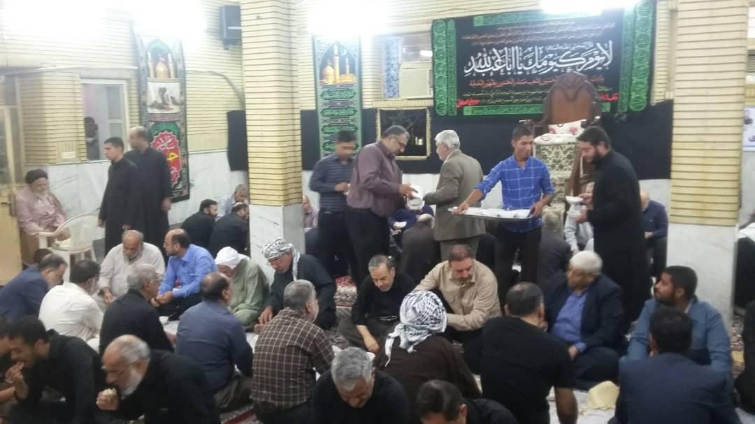 گزارش تصویری/دعای ندبه هیئت رزمندگان کارون با حضور امام جمعه