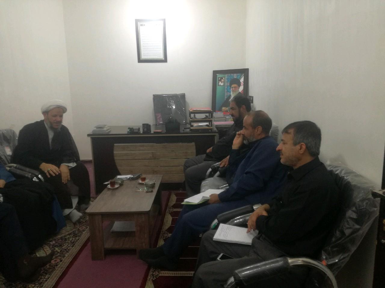 جلسه معاونت سیاسی ستاد با حضور امام جمعه کارون