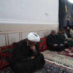 گزارش تصویری/حضور امام جمعه کارون در مراسم ترحیم مادر شهید دوران دفاع مقدس