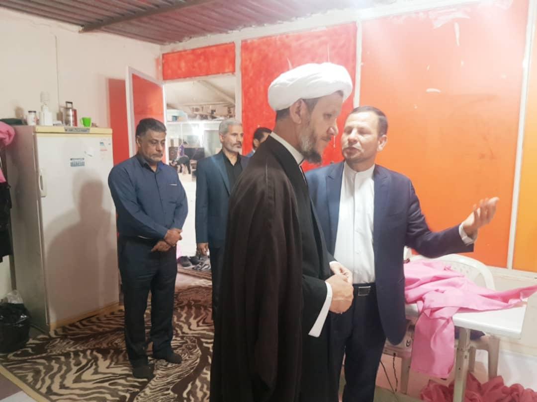 بازدید امام جمعه کارون از موسسه خیریه حب الرسول