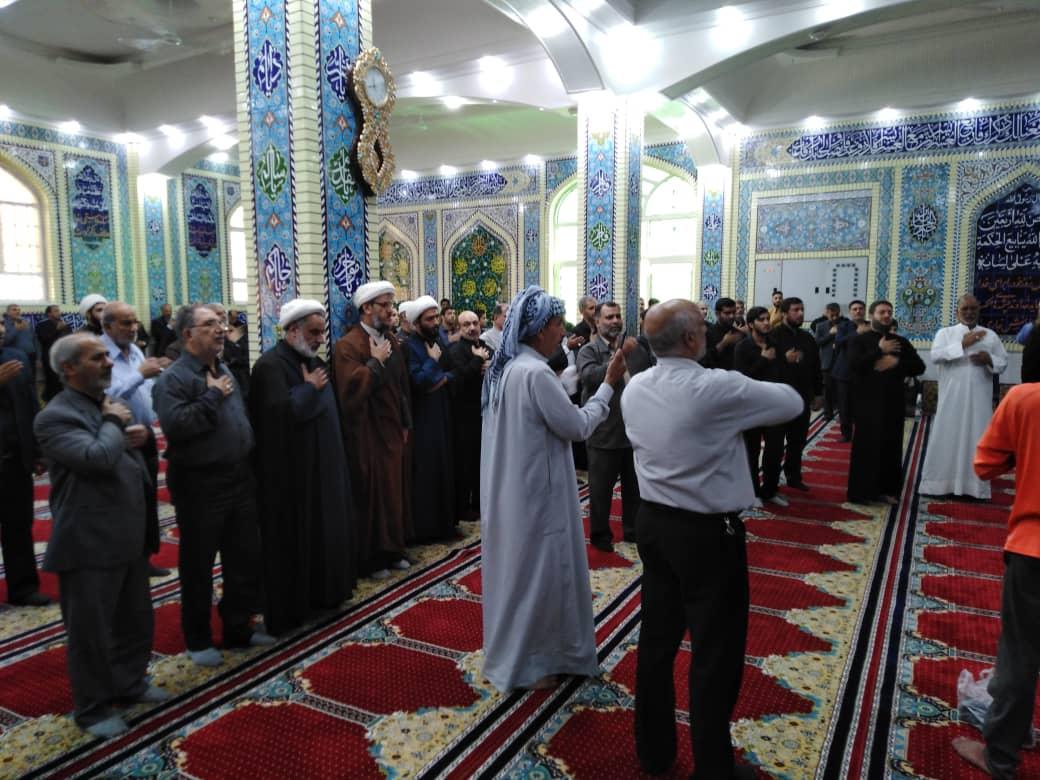 مراسم سوگواری شهادت امام رضا علیه السلام در مسجد الرسول(ص)برگزار شد.