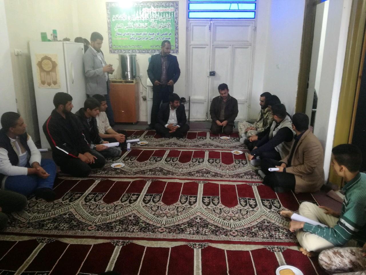 گزارش تصویری/ جلسه مسئول ستاد با مسئولین بیسج دانش آموزی