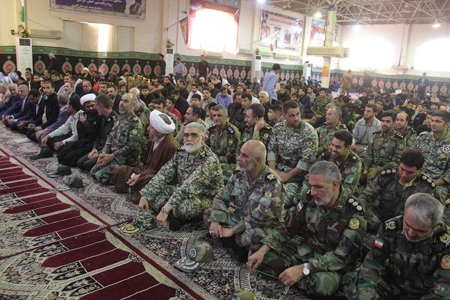 گزارش تصویری/سومین سالگرد شهید مدافع حرم سردار جبار عراقی و چهلمین روز شهادت حادثه تروریستی شهید نبی دریس