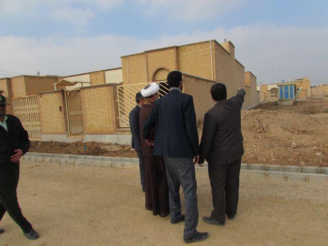 گزارش تصویری/بازدید امام جمعه کارون از پروژه های عمرانی