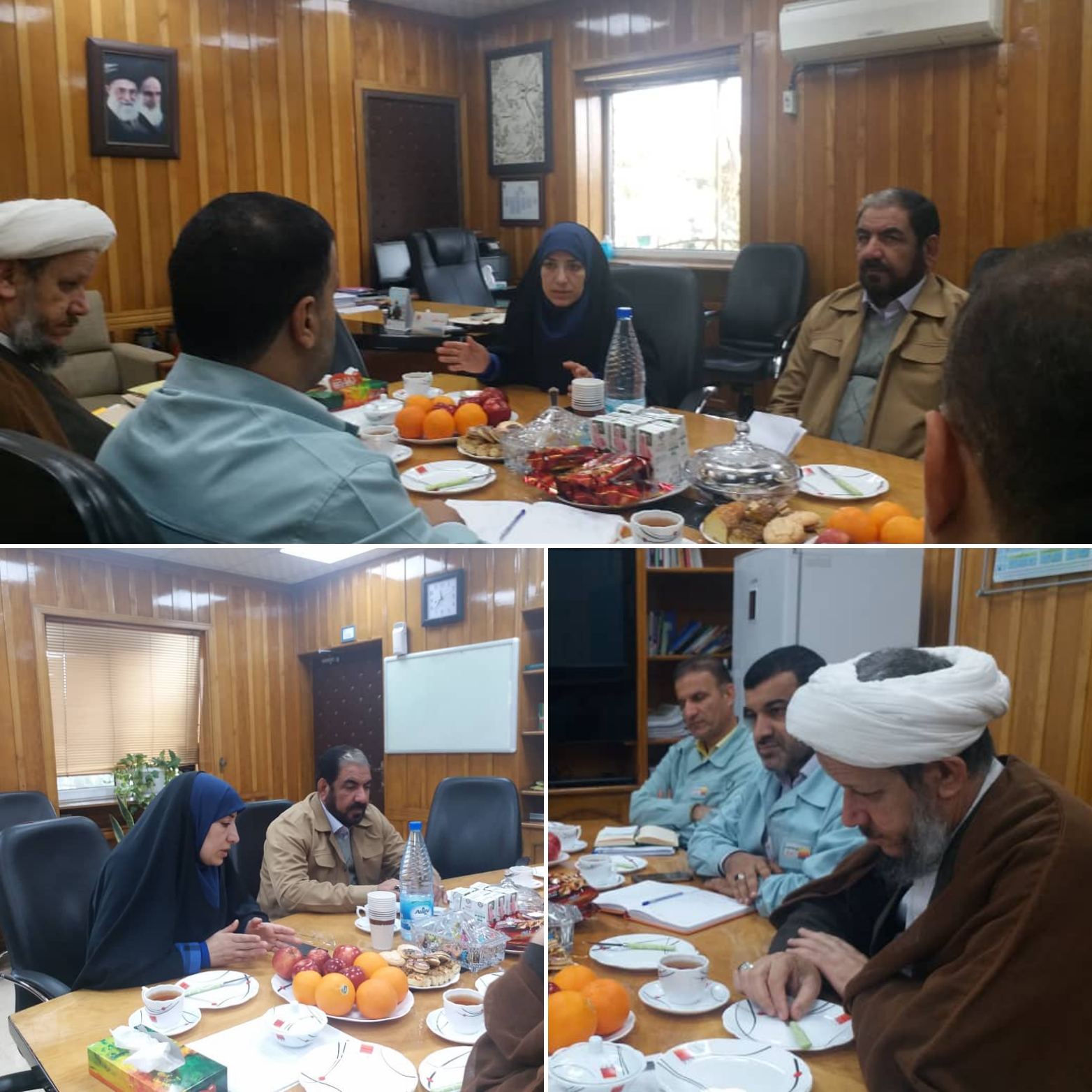 دیدار امام جمعه با معاونت منابع انسانی صنایع فولاد