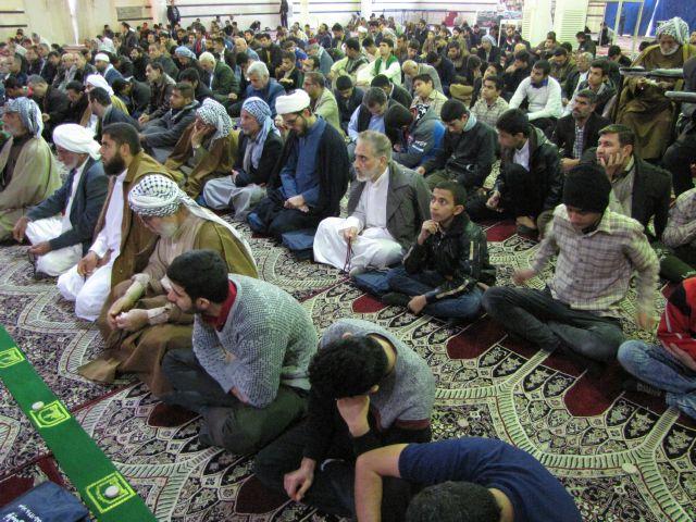 گزارش تصویری /نماز جمعه شهرستان کارون 21دی ماه 97