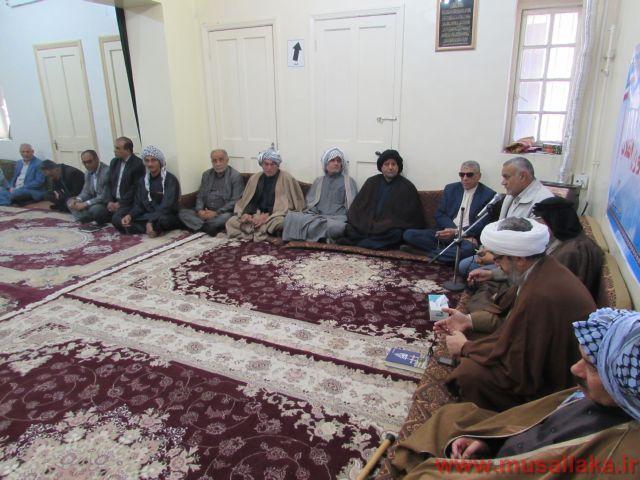 رگزاری جلسه با معتمدین شهرستان به مناسبت چهلمین سالگرد انقلاب اسلامی
