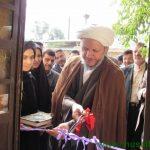با حضور امام جمعه کارون دو نمایشگاه به مناسبت دهه فجر افتتاح شد