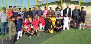 دیدار امام جمعه کارون با تیمهای فوتبال شهرستان