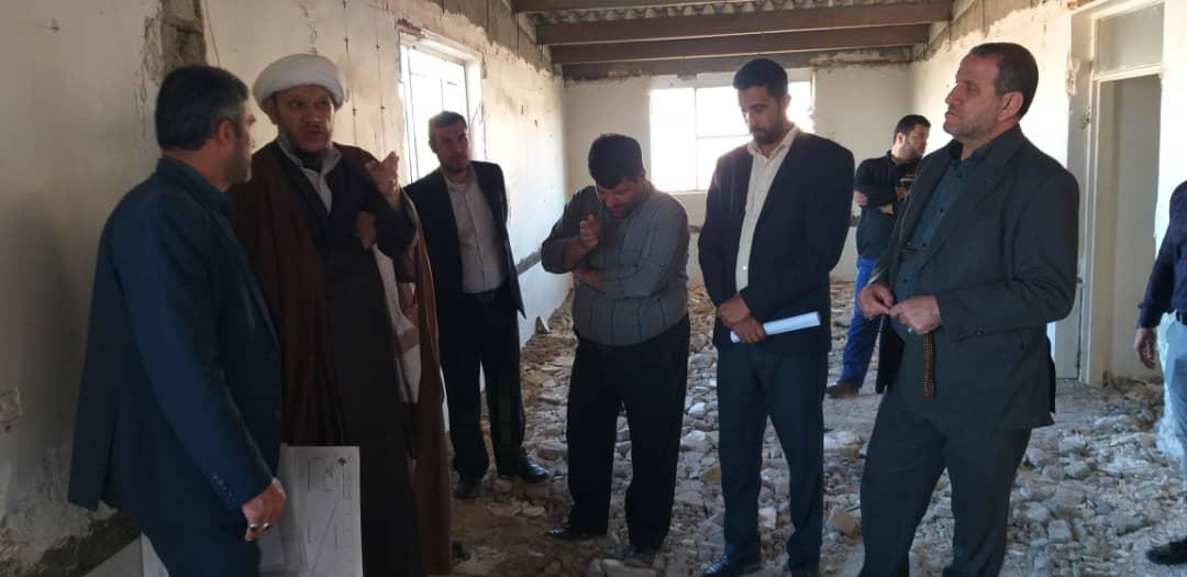 بازدید امام جمعه کارون از پروژه های شیرین شهر