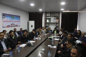جلسه شورای اداری شهرستان کارون