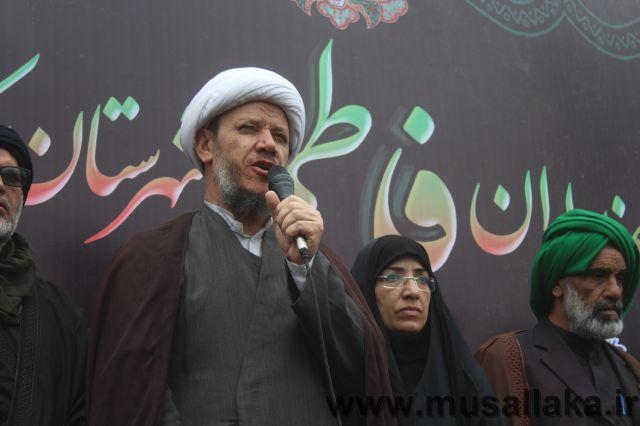 مراسم عزاداری شهادت حضرت فاطمه زهرا (ص) با حضور پرشور مردم ولیتمدار شهرستان کارون برگزار شد.