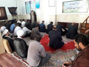 نماز وحدت ادارات در مسجد فاطمه الزهرا(س) برگزار شد